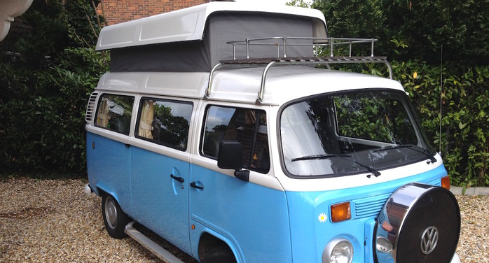 Gertie The VW T2 Retro Campervan For Up To 41784253